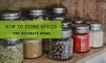 How to store spices