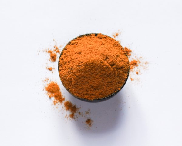 Powdered turmeric