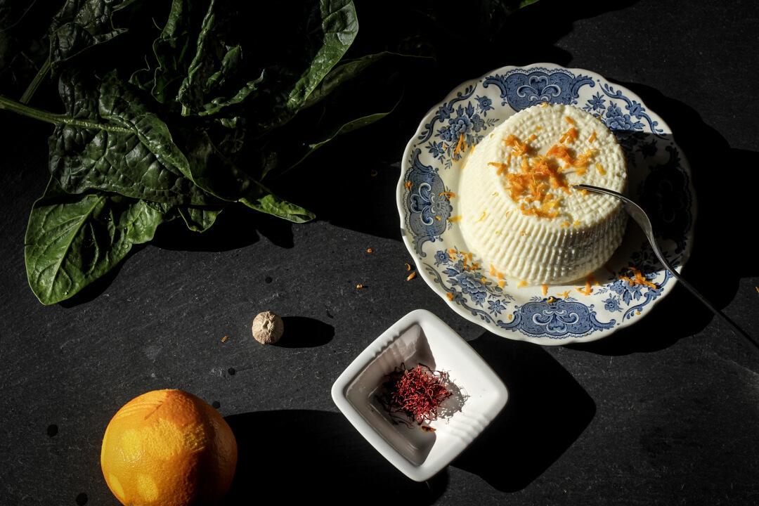 Ingrédients pour la farce des ravioli
